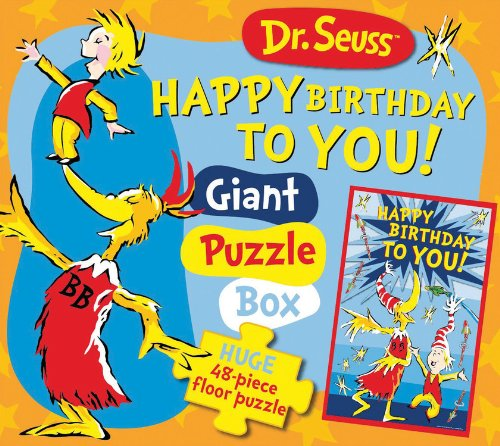 9781464300943: Dr. Seuss Happy Birthday to You! Giant Puzzle Box: Huge 48-piece floor puzzle (Dr. Seuss Giant Puzzle Boxes)