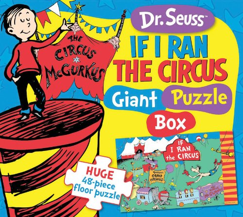 9781464301421: Dr. Seuss If I Ran the Circus Giant Puzzle Box: Huge 48-piece floor puzzle (Dr. Seuss Giant Puzzle Boxes)