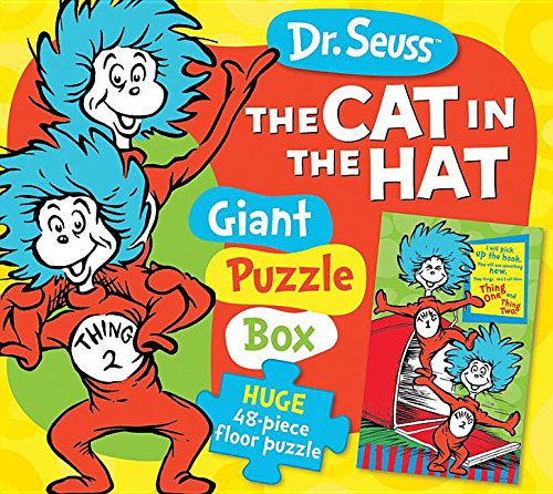 Dr. Seuss Thing One & Thing Two Giant Puzzle Box: Huge 48-piece floor puzzle (Dr. Seuss Giant Puzzle Boxes) (1464301441) by Dr. Seuss Enterprises
