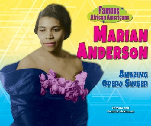 9781464402029: Marian Anderson: Amazing Opera Singer (Famous African Americans)