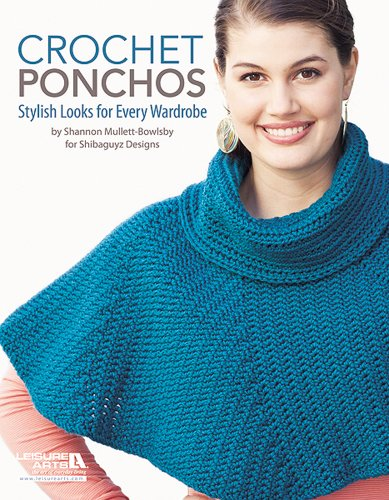 9781464704048: Crochet Ponchos