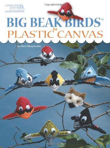 9781464704123: Big Beak Birds in Plastic Canvas (Leisure Arts #5853)
