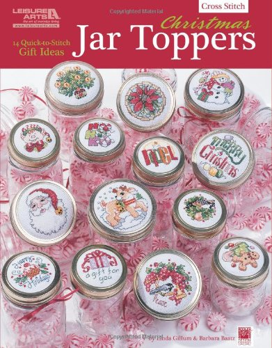 Christmas Jar Toppers (Leisure Arts #5856): Kooler Design Studio