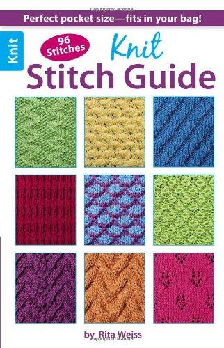 9781464707421: Knit Stitch Guide