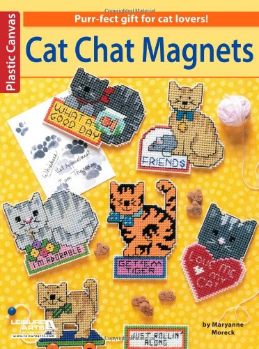 Cat Chat Magnets: Leisure Arts