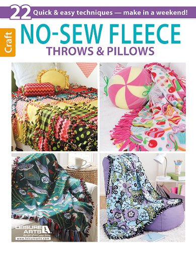 9781464711176: No-Sew Fleece Throws & Pillows