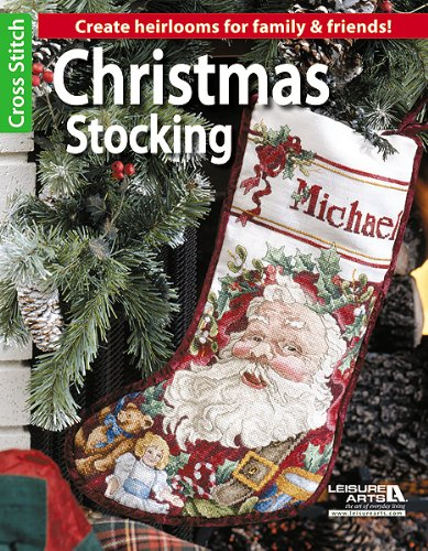 Christmas Stocking (Leisure Arts Cross Stitch)