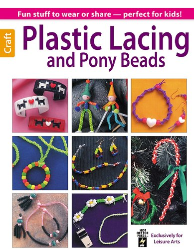 Plastic Lacing and Pony Beads (Leisure Arts Craft): MacDonald, Beth