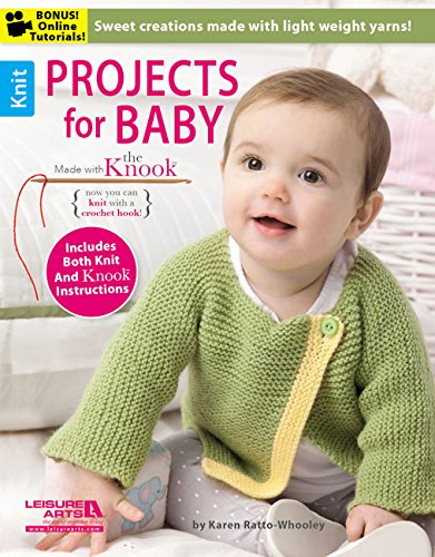 Projects for Baby Made with the Knook[Trademark]: Karen Ratto-whooley