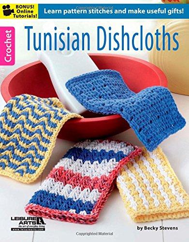Tunisian Dishcloths (6371): Kathy Norris