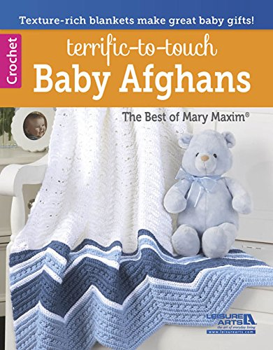 Terrific-to-Touch Baby Afghans: Mary Maxim