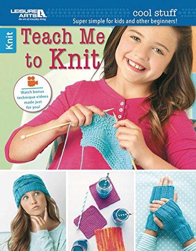 9781464743252: Cool Stuff Teach Me to Knit - Leisure Arts (6648)