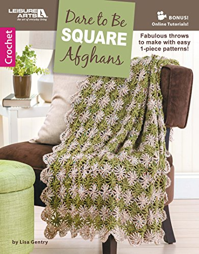 9781464743481: Dare to be Square Afghans - Leisure Arts (6656)