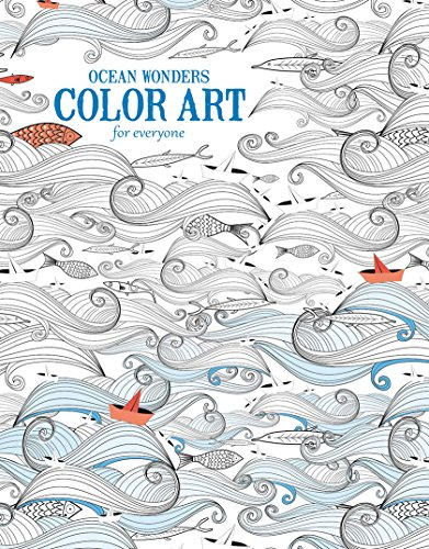9781464750397: Ocean Wonders   Color Art for Everyone - Leisure Arts (6703)