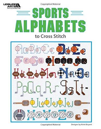 9781464753787: Sports Alphabets | Cross Stitch | Leisure Arts (6733)