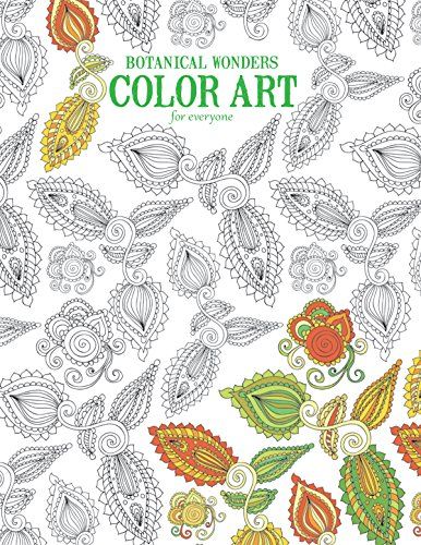 9781464754074: Botanical Wonders Color Art for Everyone