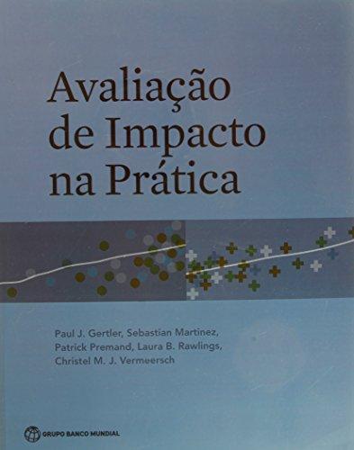 9781464800887: Avaliação de Impacto na Prática (Portuguese Edition)