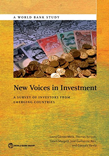 New Voices in Investment: A Survey of: G?mez-Mera, Laura, Kenyon,