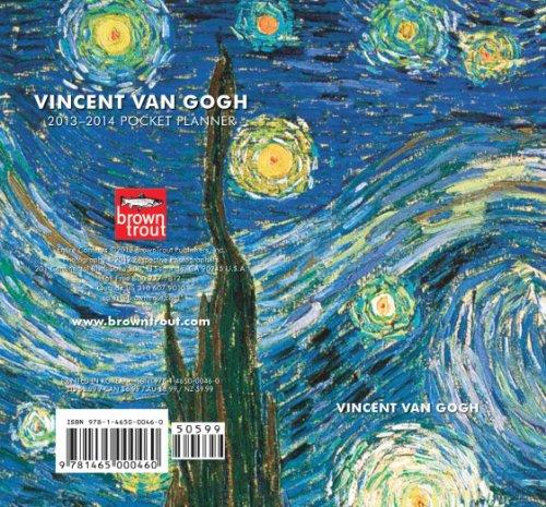 9781465000460: Van Gogh, Vincent 2013 Two Year Pocket Planner (Multilingual Edition)