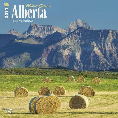 9781465008893: Wild & Scenic Alberta Calendar