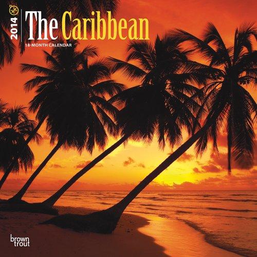 9781465009708: The Caribbean 18-Month 2014 Calendar (Multilingual Edition)