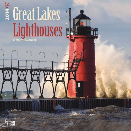 9781465010582: Great Lakes Lighthouses Calendar (Multilingual Edition)