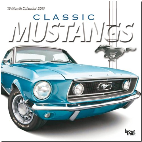 9781465011664: Classic Mustangs Official 18-Month Calendar (Multilingual Edition)