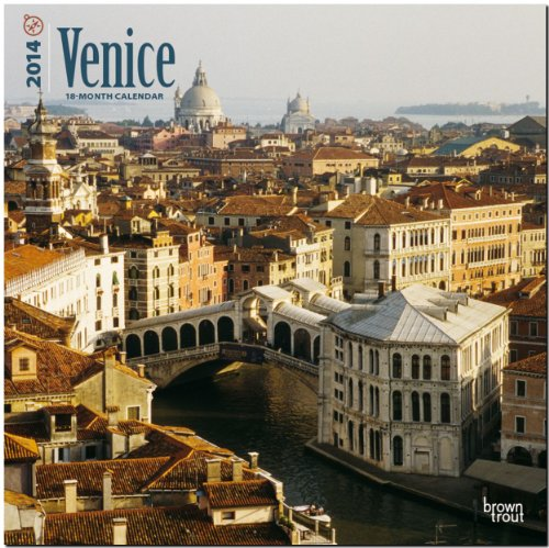 9781465012975: Venice 18-Month 2014 Calendar (Multilingual Edition)