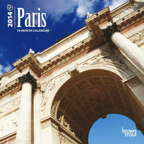 9781465014061: Paris 2014 Mini Calendar