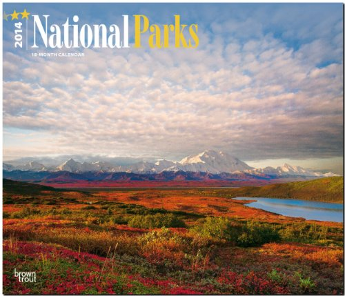 9781465014504: National Parks 18-Month 2014 Calendar