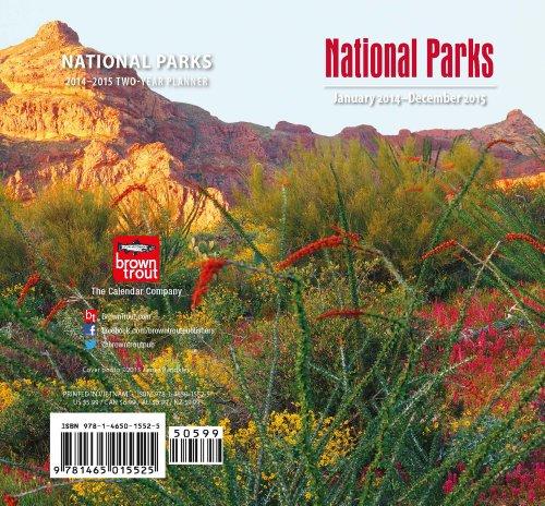 9781465015525: National Parks 2014 Pocket Planner