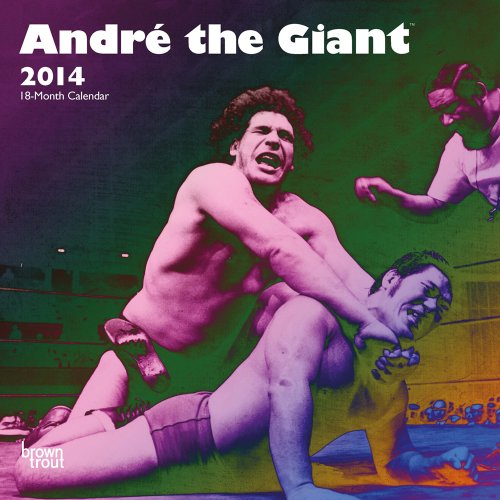 9781465016065: Andre the Giant 18-Month 2014 Calendar (Multilingual Edition)