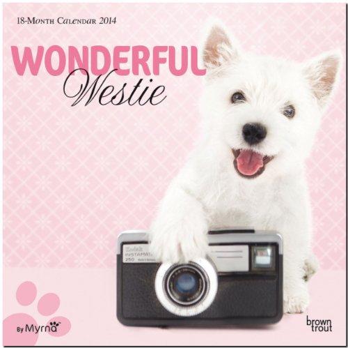 9781465016294: Wonderful Westie 18-Month Calendar (Studio Pets By Myrna) (Multilingual Edition)