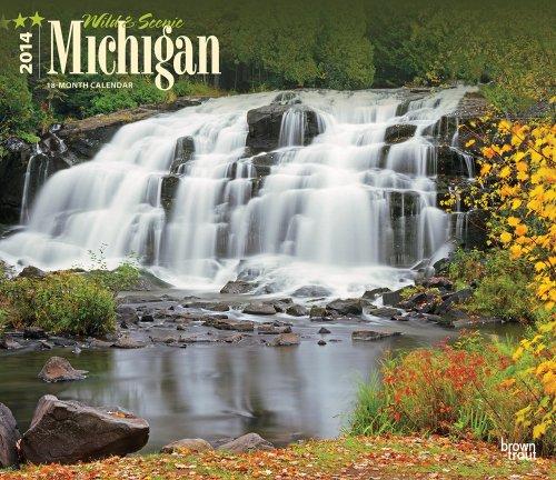 Wild & Scenic Michigan 18-Month 2014 Calendar (Multilingual Edition)