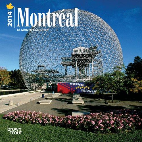 9781465017390: Montreal 18-Month 2014 Calendar (Multilingual Edition)