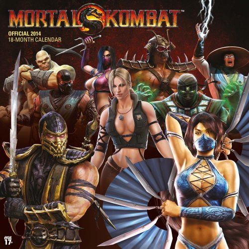9781465018083: Mortal Kombat Official 18-Month 2014 Calendar
