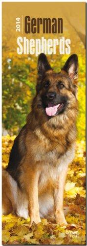 9781465018533: German Shepherds 2014 Slim Calendar