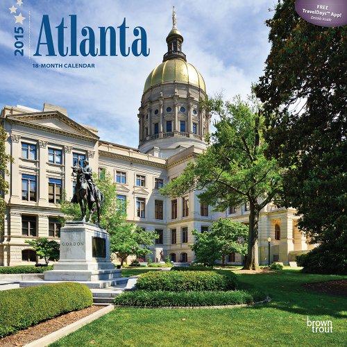 9781465024527: Atlanta 2015 Calendar