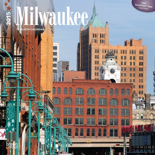 Milwaukee 2015 Square 12x12 (Multilingual Edition): BrownTrout