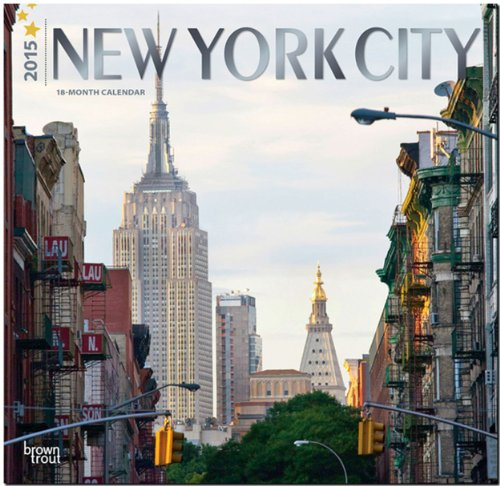 9781465024633: New York City 2015 Square 12x12 (ST-Silver Foil) (Multilingual Edition)