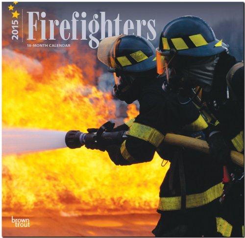 Firefighters 2015 Square 12x12 (Multilingual Edition): BrownTrout