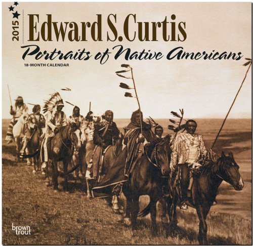 9781465025371: Curtis, Edward S - Portraits of Native Americans 2015 Square 12x12 (Multilingual Edition)