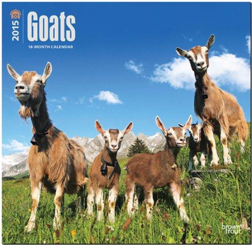 9781465027382: Goats 2015 Wall