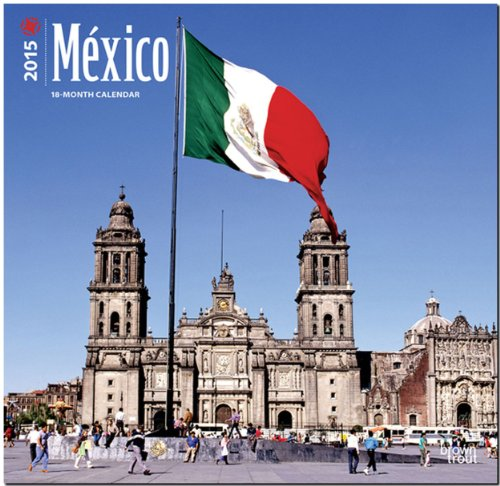 México 2015 Square 12x12 (Multilingual Edition): BrownTrout