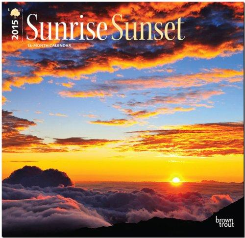 9781465027856: Sunrise, Sunset 2015 Wall