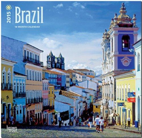 9781465028105: Brazil 2015 - Brasilien: Original BrownTrout-Kalender