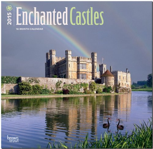 9781465028143: Castles, Enchanted 2015 Wall