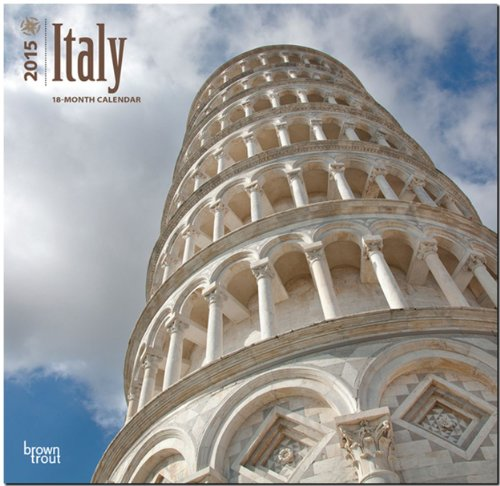 9781465028204: Italy 2015 Square 12x12 (Multilingual Edition)