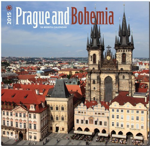 Prague and Bohemia 2015 Square 12x12 (Multilingual Edition): BrownTrout