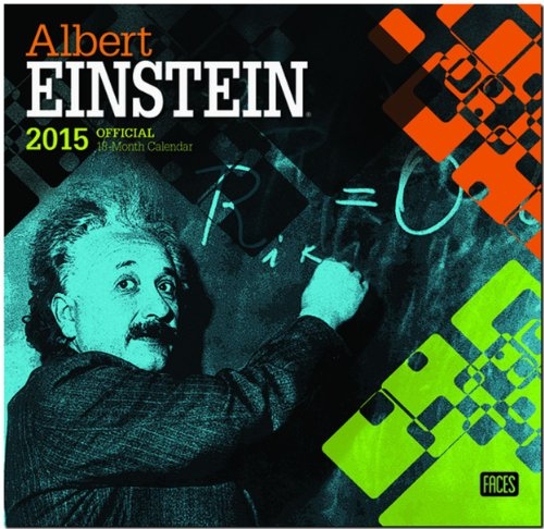 Albert Einstein 2015 Official 18-Month Calendar: Browntrout Publishers (Corporate Author)